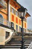 Castello di Pilnitz fuori di Dresda, Germania Immagine Stock Libera da Diritti