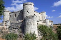 Castello di Pioz Fotografia Stock Libera da Diritti