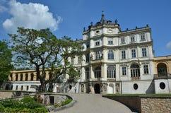 Castello di Ploskovice Fotografia Stock Libera da Diritti