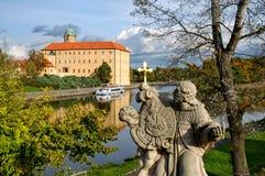 Castello di Podebrady Fotografia Stock