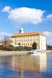 Castello di Podebrady Fotografie Stock