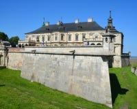 Castello di Podgoretsky Fotografia Stock Libera da Diritti