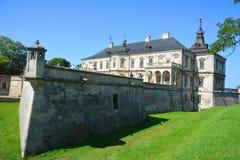 Castello di Podgoretsky Immagini Stock Libere da Diritti