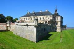 Castello di Podgoretsky Immagini Stock