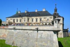 Castello di Podgoretsky Immagine Stock Libera da Diritti