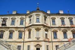 Castello di Podgoretsky Fotografie Stock