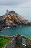 Castello di Porto Venere, Italy Royalty Free Stock Photos