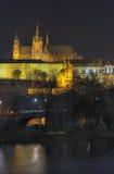 Castello di Praga Fotografia Stock Libera da Diritti