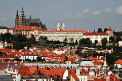 Castello di Praga Fotografie Stock