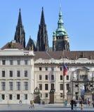 Castello di Praga fotografia stock