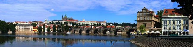 Castello di Praga (Hradcany) Fotografia Stock