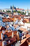 Castello di Praga, Praga (Unesco), repubblica Ceca Fotografia Stock