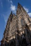 Castello di Praga, Repubblica ceca Immagini Stock Libere da Diritti