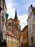 Castello di Praga, repubblica Ceca, bello castello Fotografia Stock Libera da Diritti