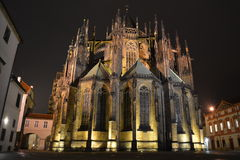 Castello di Praga - st Vitus Cathedral Fotografia Stock Libera da Diritti