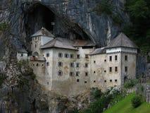 Castello di Predjama, Postumia, Slovenija fotografie stock libere da diritti