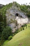 Castello di Predjama, Slovenia Fotografia Stock Libera da Diritti