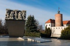 Castello di principi di Glogow Immagini Stock