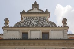 Castello di Pruhonice Fotografia Stock
