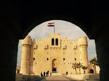 Castello di Qaitbey Fotografia Stock Libera da Diritti