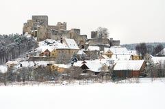 Castello di Rabi Fotografia Stock Libera da Diritti