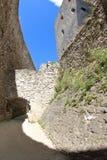 Castello di Rabi, repubblica Ceca Immagini Stock
