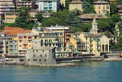 Castello di Rapallo Fotografie Stock Libere da Diritti
