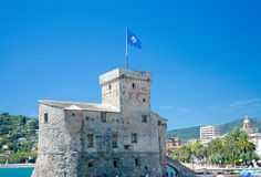 Castello di Rapallo (Castello sul Mare; circa 1551), Rapallo, It Royalty Free Stock Photo