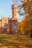 Castello di Raudone in autunno immagini stock libere da diritti