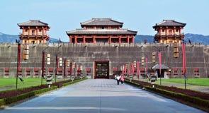 Castello di re antico in Cina Fotografia Stock