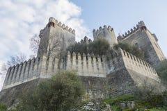 Castello di Rio del di Almodovar, Cordova, Spagna Fotografia Stock