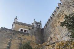 Castello di Rio del di Almodovar, Cordova, Spagna Fotografie Stock