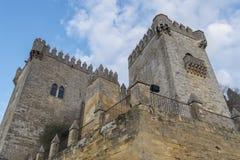 Castello di Rio del di Almodovar, Cordova, Spagna Fotografie Stock Libere da Diritti