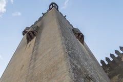 Castello di Rio del di Almodovar, Cordova, Spagna Fotografia Stock Libera da Diritti