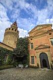 Castello di Rivalta Immagine Stock
