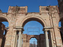 Castello di Rivoli, Italien Royaltyfri Foto