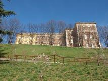 Castello di Rivoli, Italien fotografering för bildbyråer