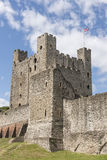 Castello di Rochester in Risonanza, Inghilterra Fotografie Stock