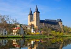 Castello di Rochlitz Fotografie Stock Libere da Diritti