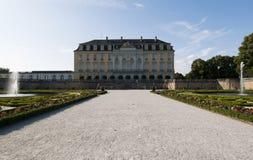 Castello di rococò di Augustusburg al ¼ hl/Germany di Brà immagini stock