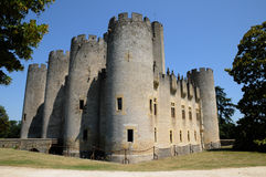 Castello di Roquetaillade Fotografie Stock