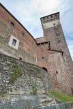 Castello di Rovasenda (Vercelli, Italia) Fotografia Stock Libera da Diritti