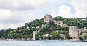 Castello di Rumeli Fotografia Stock