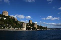 Castello di Rumeli Hisar Immagini Stock