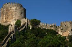 Castello di Rumeli Hisar Fotografia Stock