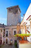 Castello di Rutigliano La Puglia L'Italia Fotografie Stock Libere da Diritti