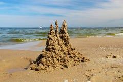 Castello di sabbia Fotografie Stock