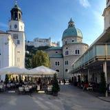 Castello di Salisburgo fotografia stock
