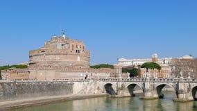 Castello di San Angelo, Roma, Italia 4K archivi video