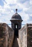 Castello di San Felipe del Morro Fotografie Stock